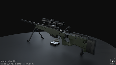 L115A3 Rear Backside Render