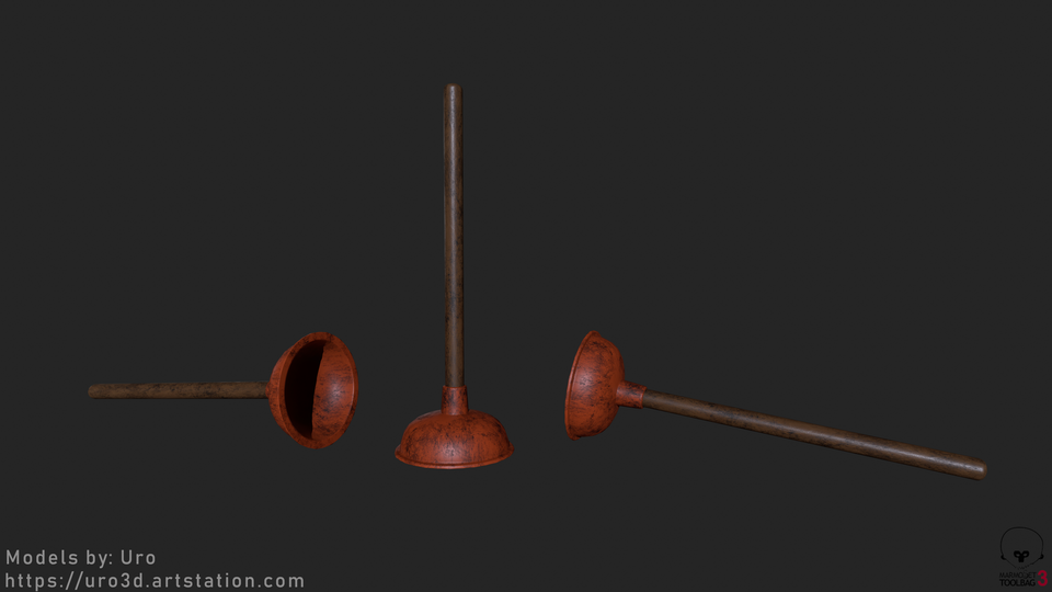 Sink Plunger Render